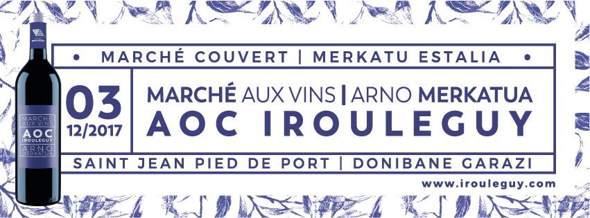 Le 1er marché aux vins de l'appellation Irouléguy